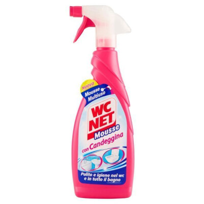 WC NET MOUSSE CON CANDEGGINA TRIGGER 600 ML
