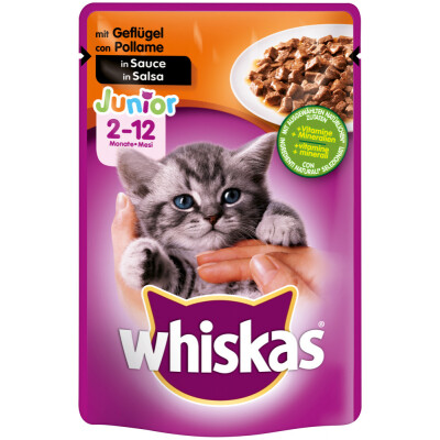WHISKAS BUSTINA GATTINI POLLO 100 GR