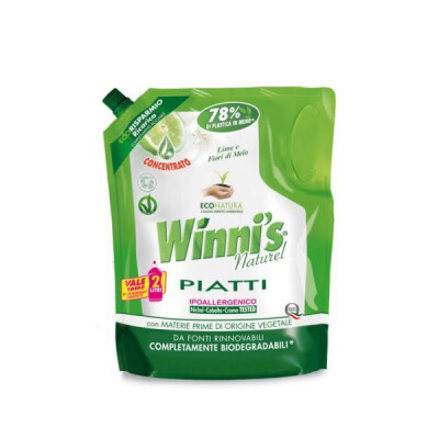 WINNI'S PIATTI ECORICARICA LIME 1000 ML