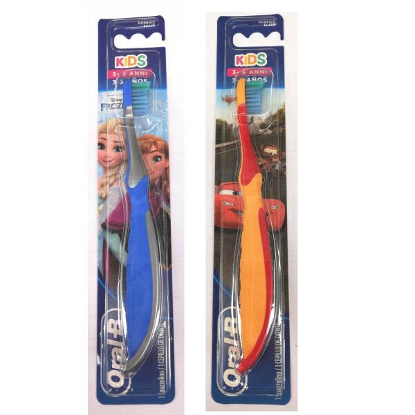 Gli spazzolini da denti per i bimbi